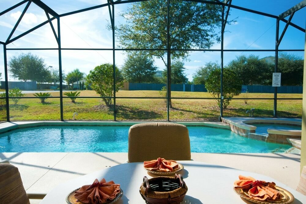 Best 1735 Deluxe 4 Bedroom Vacation Pool Home Villa Near Disney With Pictures