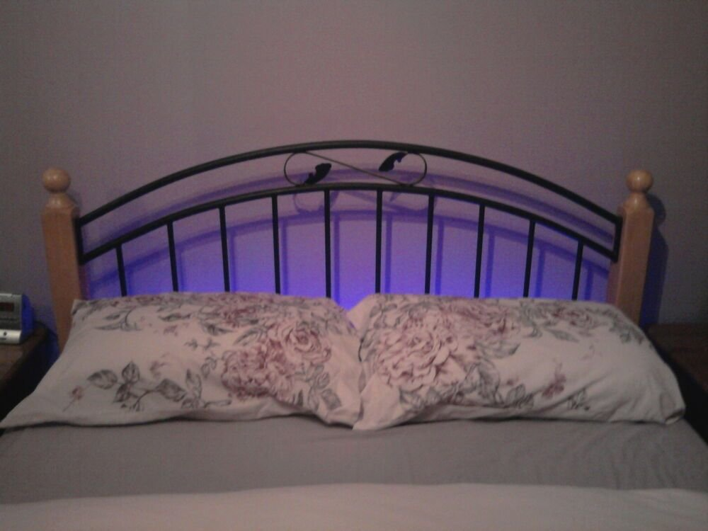 Best Bedroom Ambient Mood Lighting 5 King Size Bed Ebay With Pictures