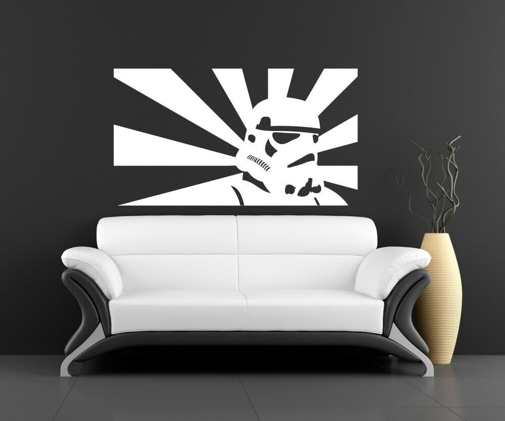 Best Wall Art Sticker Transfer Bedroom Lounge Storm Trooper With Pictures
