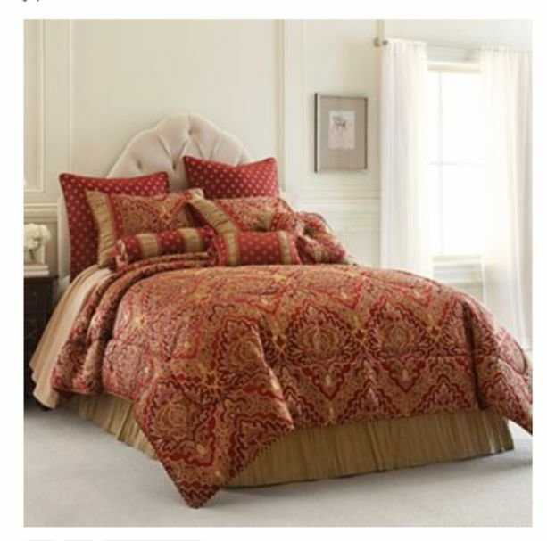 Best Chris Madden St Petersburg 7 Pc Queen Comforter Set New With Pictures