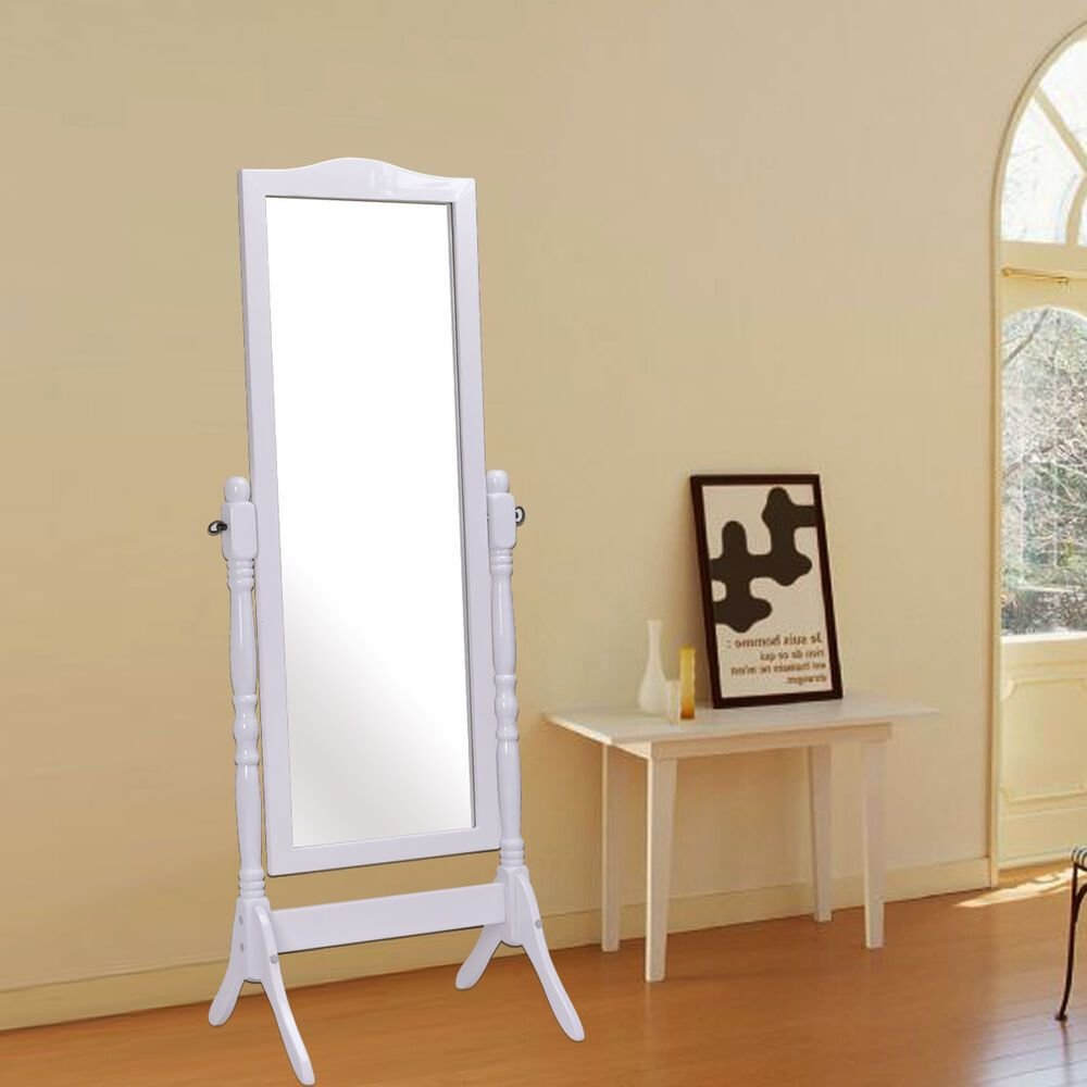 Best Full Length Dressing Mirror Swivel Wood Cheval Floor With Pictures