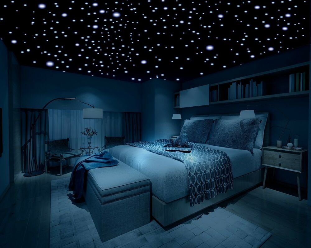 Best Glow In The Dark Stars 600 Stars 3D Self Adhesive Domed Stars Bedroom Ceiling Ebay With Pictures