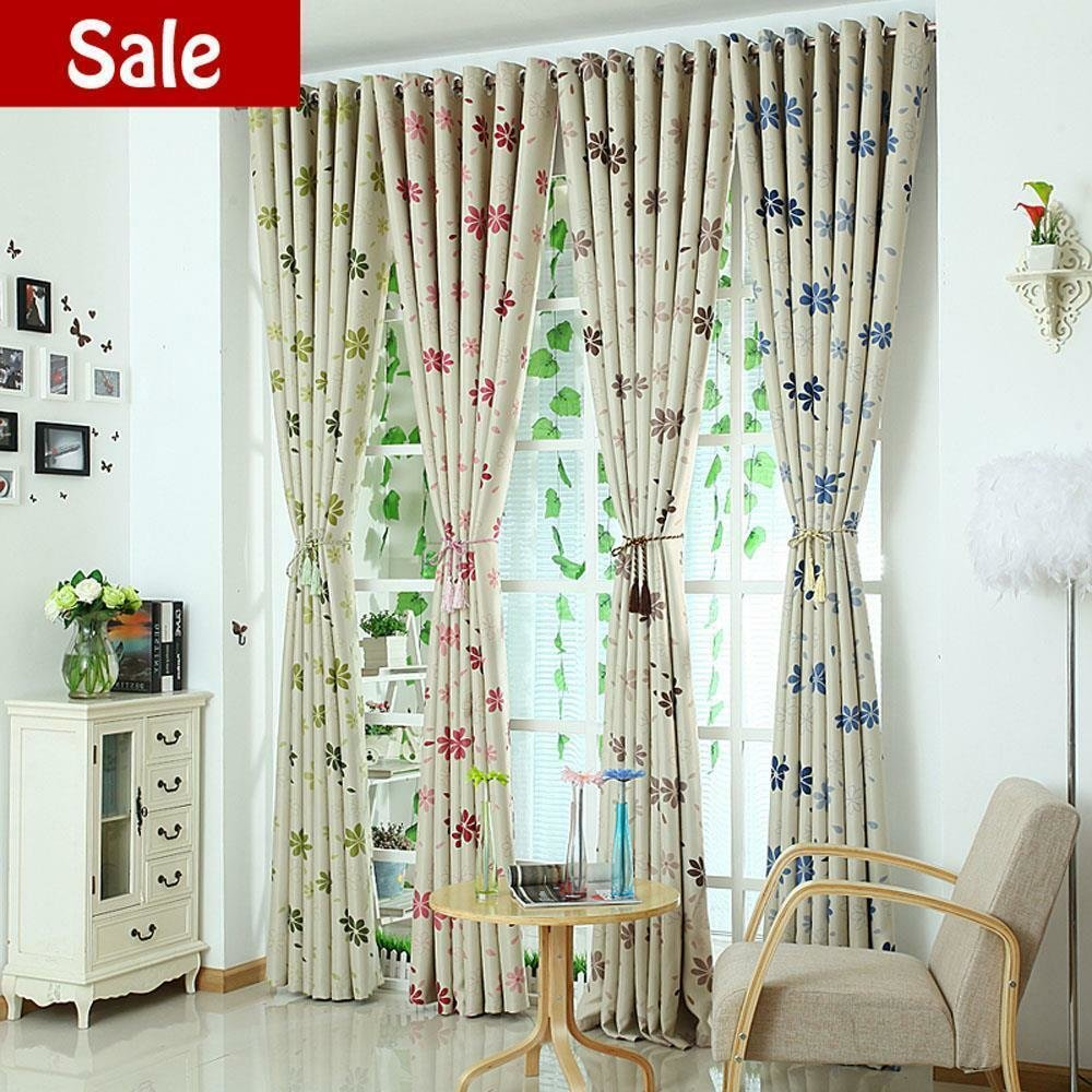 Best Quality Leaf Print Blockout Eyelet Blackout Bedroom Kids With Pictures