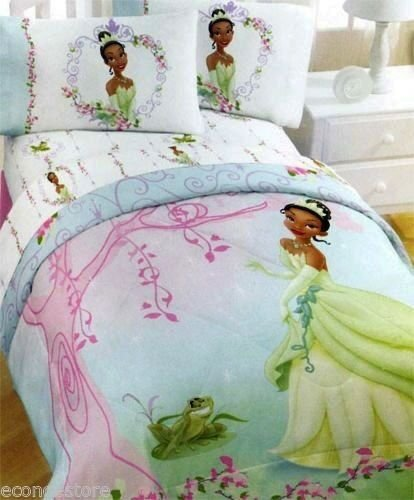 Best Disney Princess Tiana And The Frog Comforter W Tote Girl S With Pictures