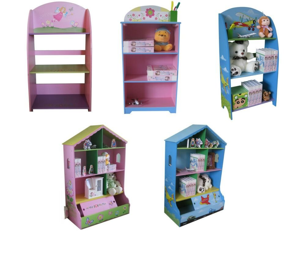 Best Children Kids Themed Bookshelf Bookcase For Their Bedroom With Pictures