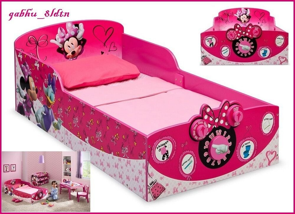 Best Interactive Wood Toddler Bed Minnie Mouse Kids Disney With Pictures