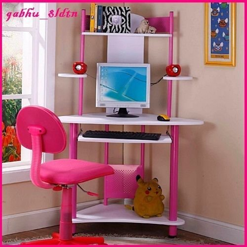 Best Kids Desk Computer Writing Center Table Workstation Girls With Pictures