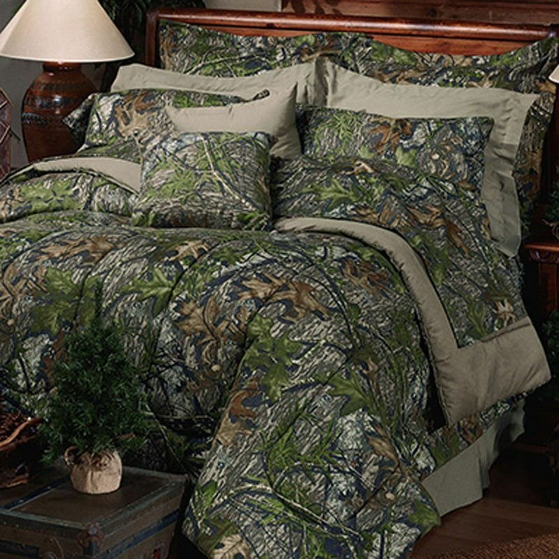 Best Mossy Oak Camo Comforter Bedding Set Camouflage Twin Full With Pictures