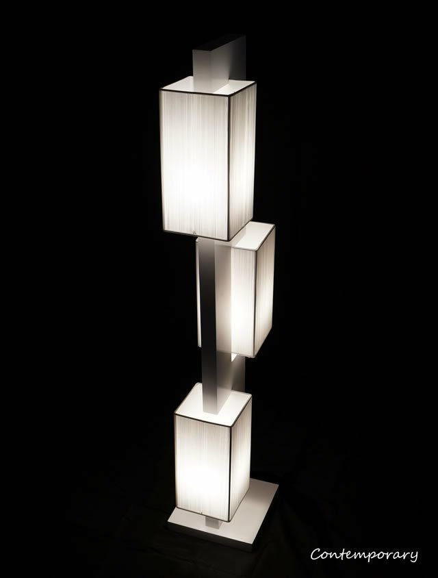 Best White Modern Contemporary Floor Lamp Zk002L Lighting For Living Room Bedroom Ebay With Pictures