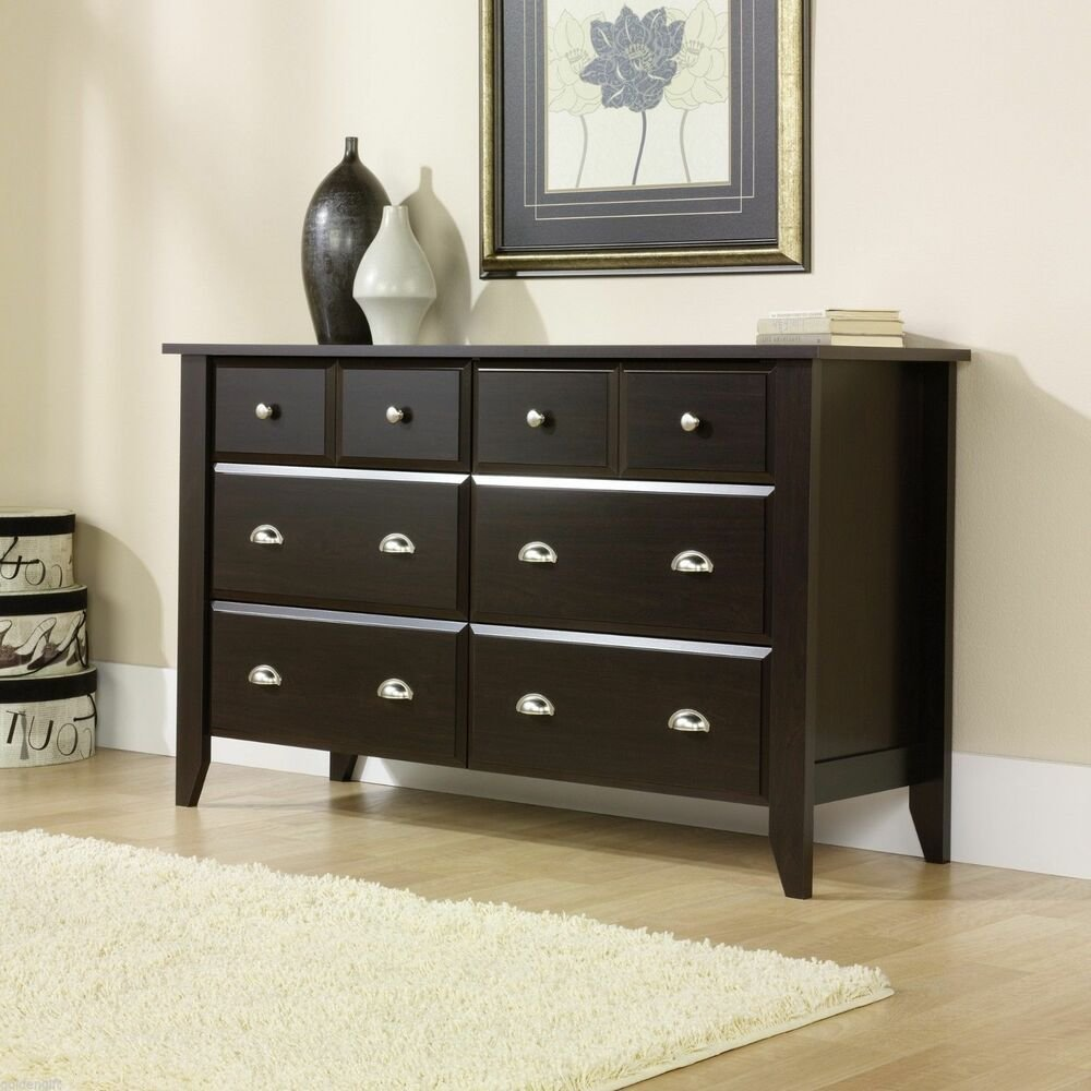 Best Modern Wooden 6 Drawer Dresser Wood Bedroom Classic With Pictures