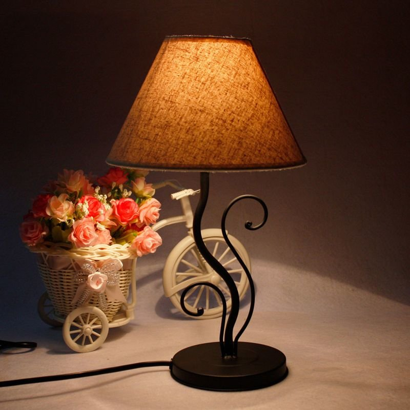 Best Led Coffee Warm Light Small Led Table Lamp Desk Lights With Pictures