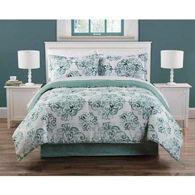 Best 8 Pieces Complete Bedding Bed Set Soft Geometric Comforter With Pictures