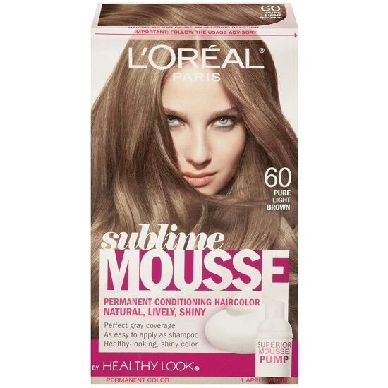 Free L Oreal Healthy Look Sublime Mousse Hair Color 60 Pure Wallpaper