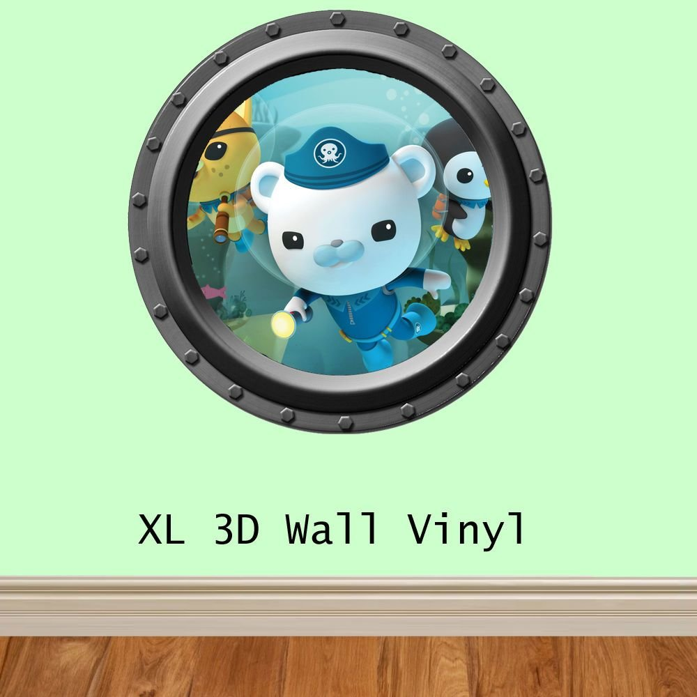 Best Childrens 3D Octonauts Feature Wall Wall Art Wall Sticker With Pictures