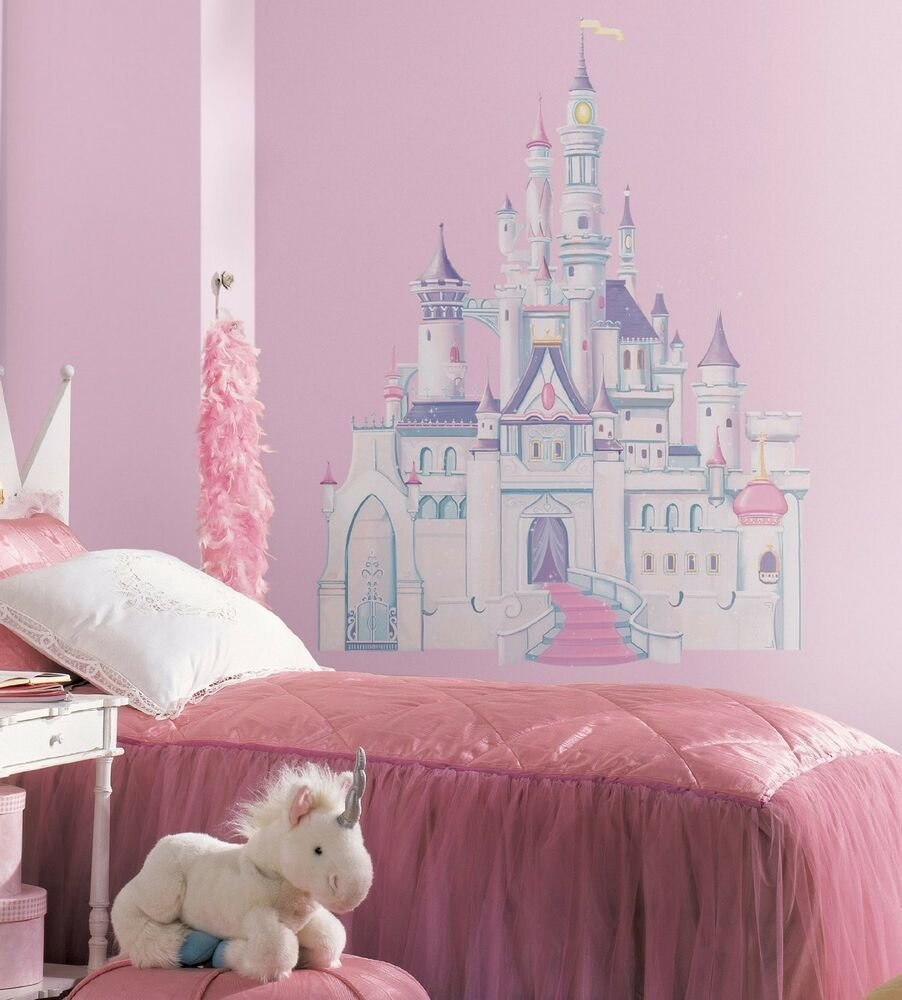 Best Disney Princess Castle Giant 42 Removable Vinyl Wall With Pictures