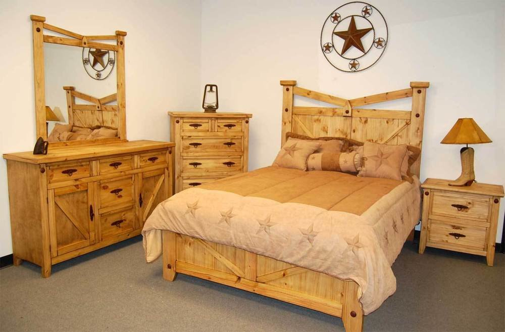 Best Rustic Santa Fe Bedroom Set Queen Real Wood Western Cabin Lodge Southwestern Ebay With Pictures