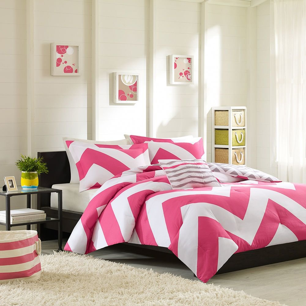 Best Sporty Modern Pink Grey White Chevron Stripe Girls With Pictures