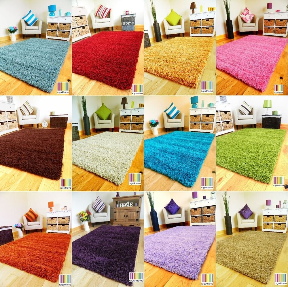 Best Small Xx Large Thick Soft Modern Plain Shaggy Pile Area With Pictures