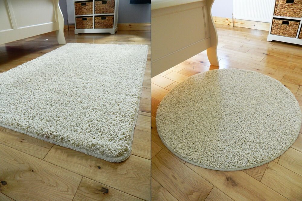 Best Small Large Cream Non Slip Washable Soft Bedroom Carpet With Pictures