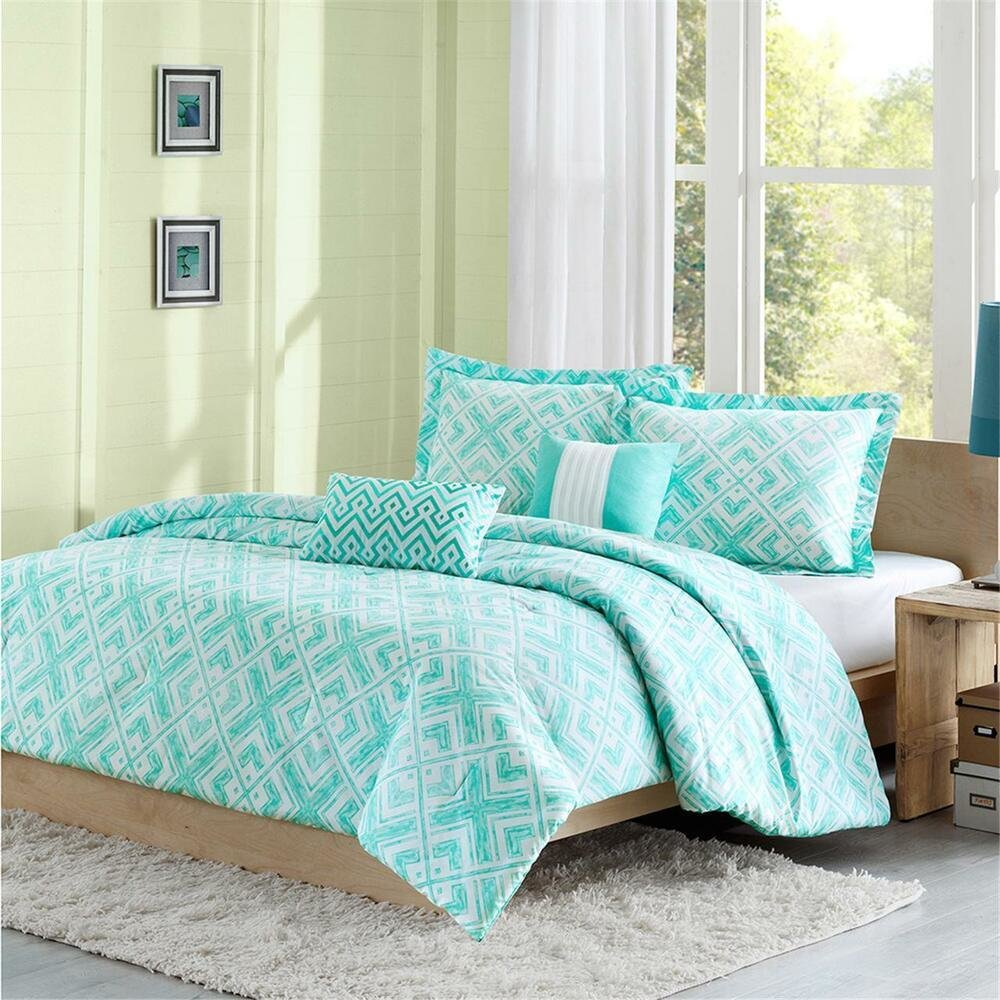 Best Beautiful Modern Chic Blue Aqua Teal Chevron Stripe Girls With Pictures