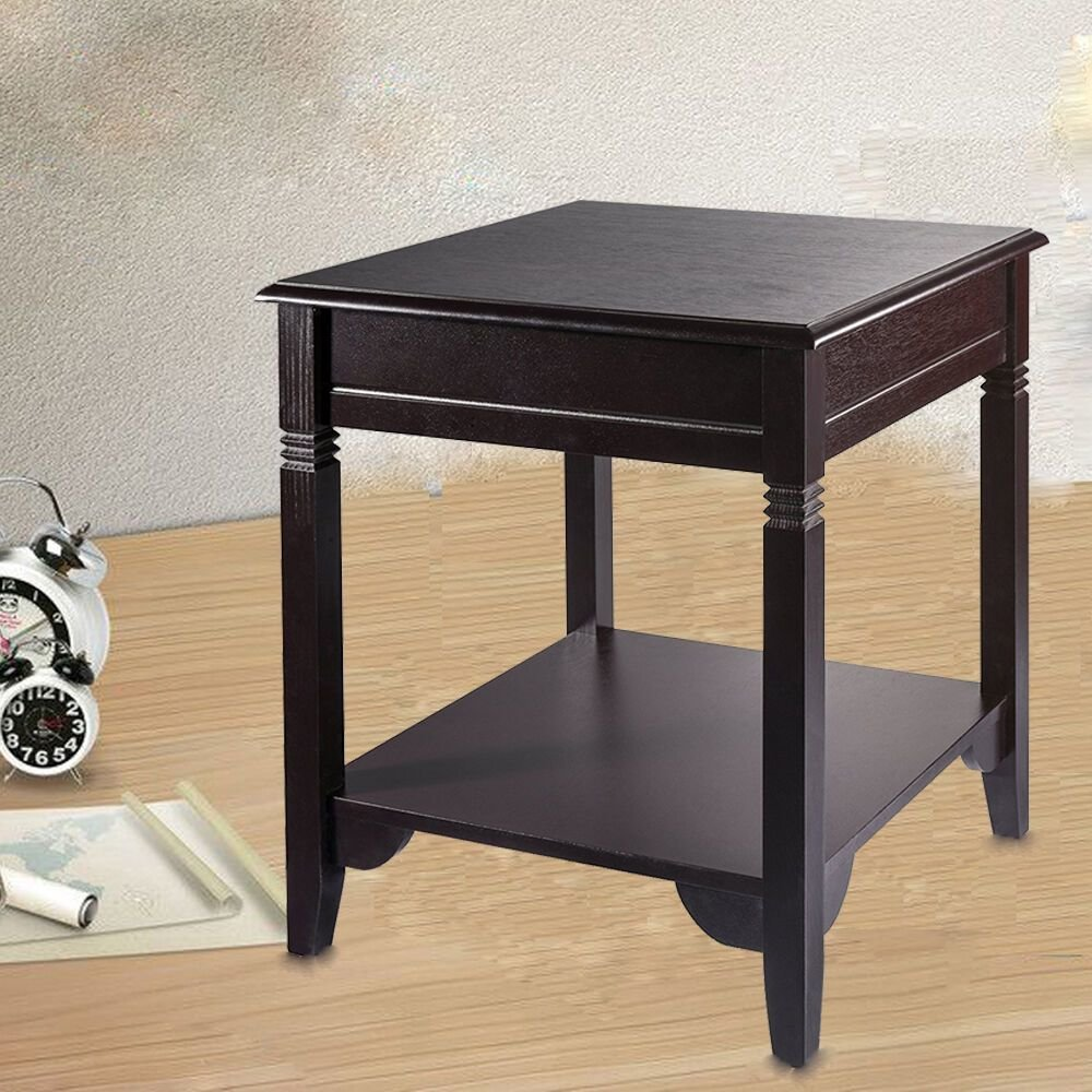 Best End Side Table Storage Nightstand Accent Table Sofa Shelf With Pictures