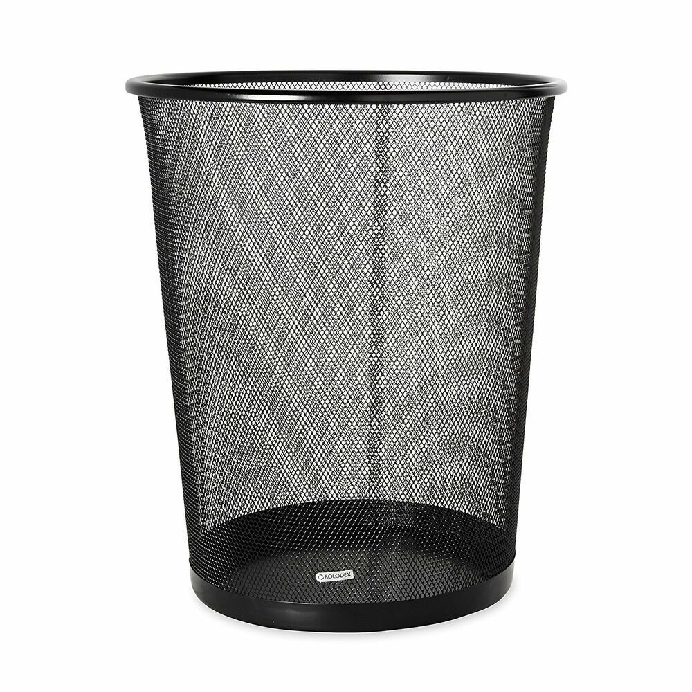Best New Wastebasket Trash Can Garbage Mesh Bin Waste Basket With Pictures