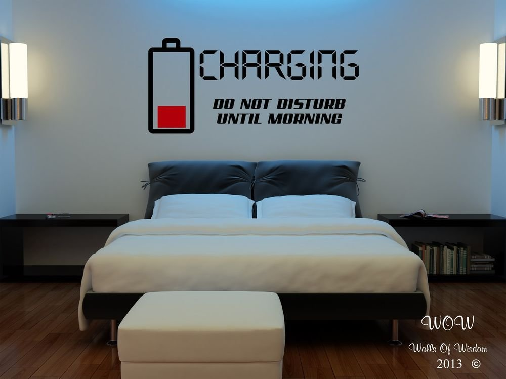 Best Children Teenager *D*Lt Bedroom Wall Stickers Wall Art Charging Do Not Disturb Ebay With Pictures