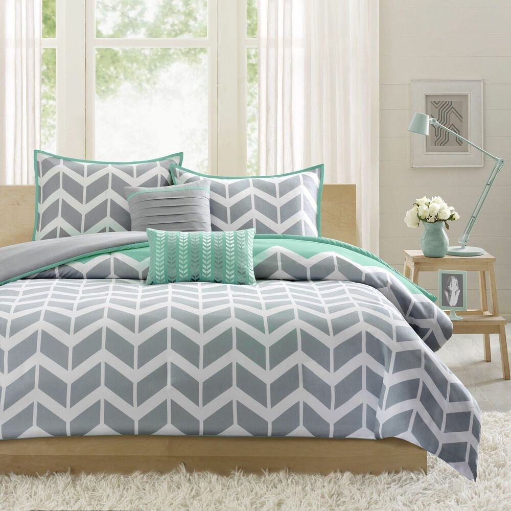 Best Modern Teal Blue Grey Aqua Yellow Chevron Stripe Sport With Pictures