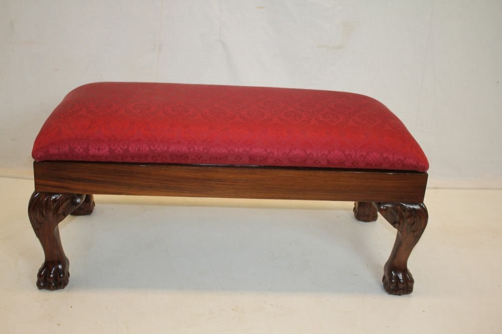 Best English Victorian Rosewood Window Hall Bedroom Bench Circa With Pictures