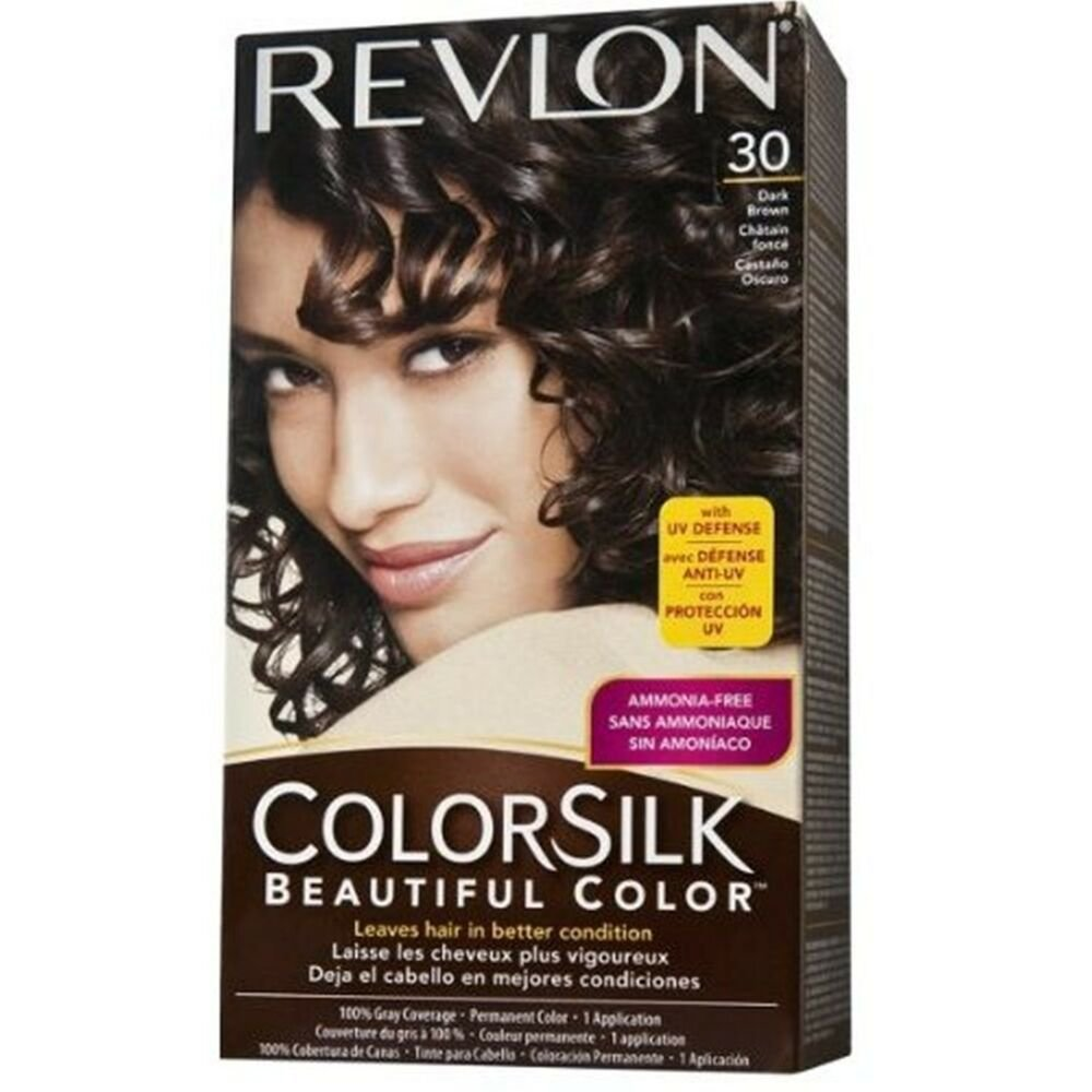Free Revlon Colorsilk Haircolor 30 Dark Brown 3N Ebay Wallpaper