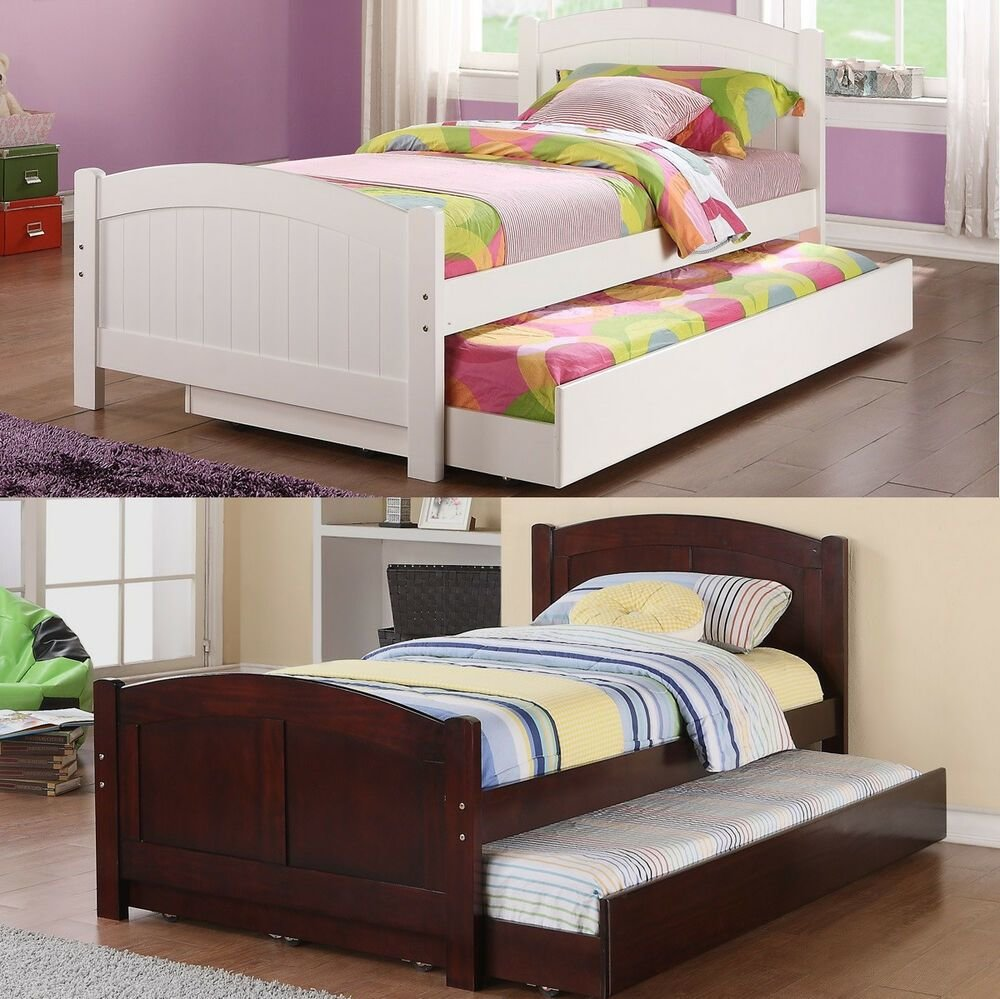 Best New Daybed With Trundle In White Cherry Bedroom Furniture With Pictures