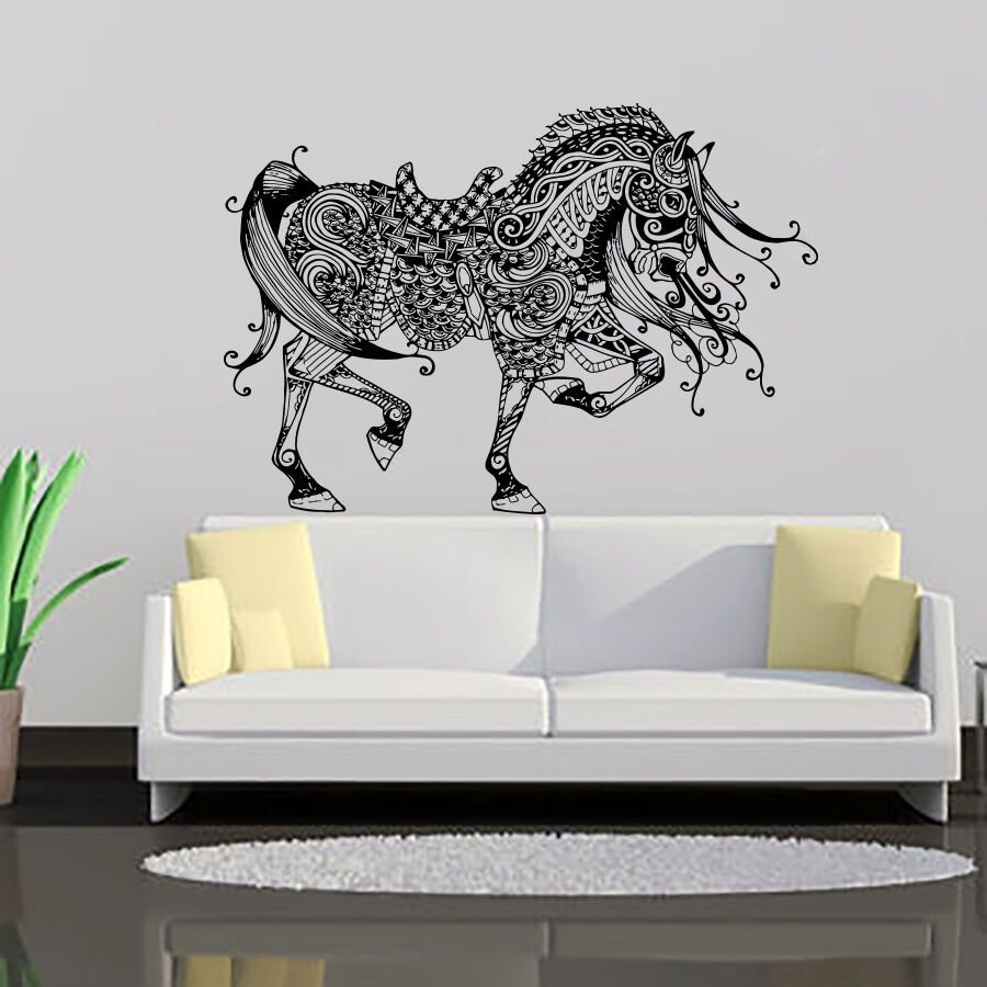 Best Wall Decals Horse Decal Vinyl Sticker Kids Nursery Bedroom With Pictures