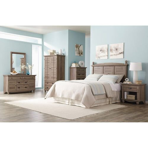 Best Furniture Classic Sauder Harbor View Full Queen Headboard With Pictures