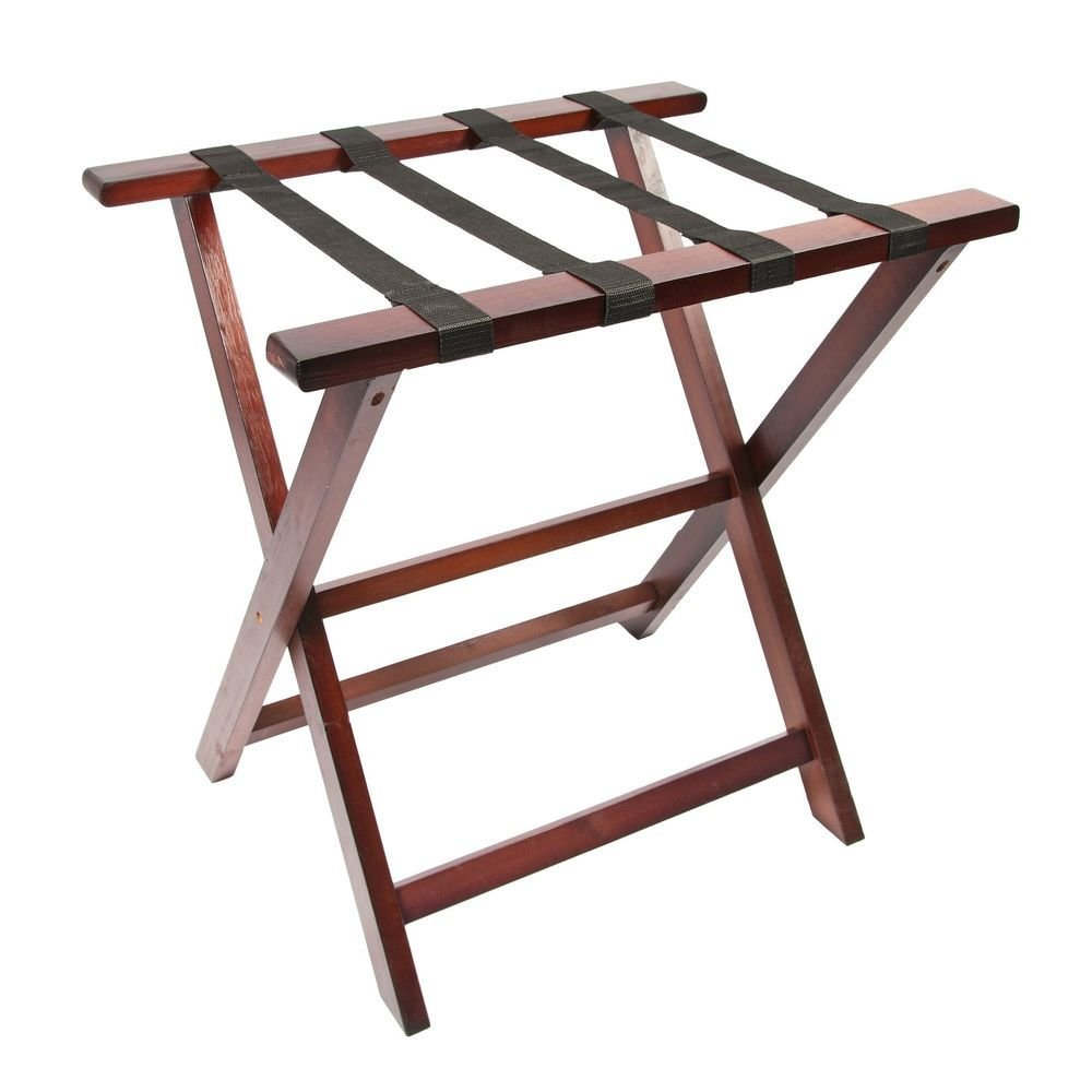 Best Woodluv Pine Wood Foldable Luggage Rack Hotel Bedroom With Pictures