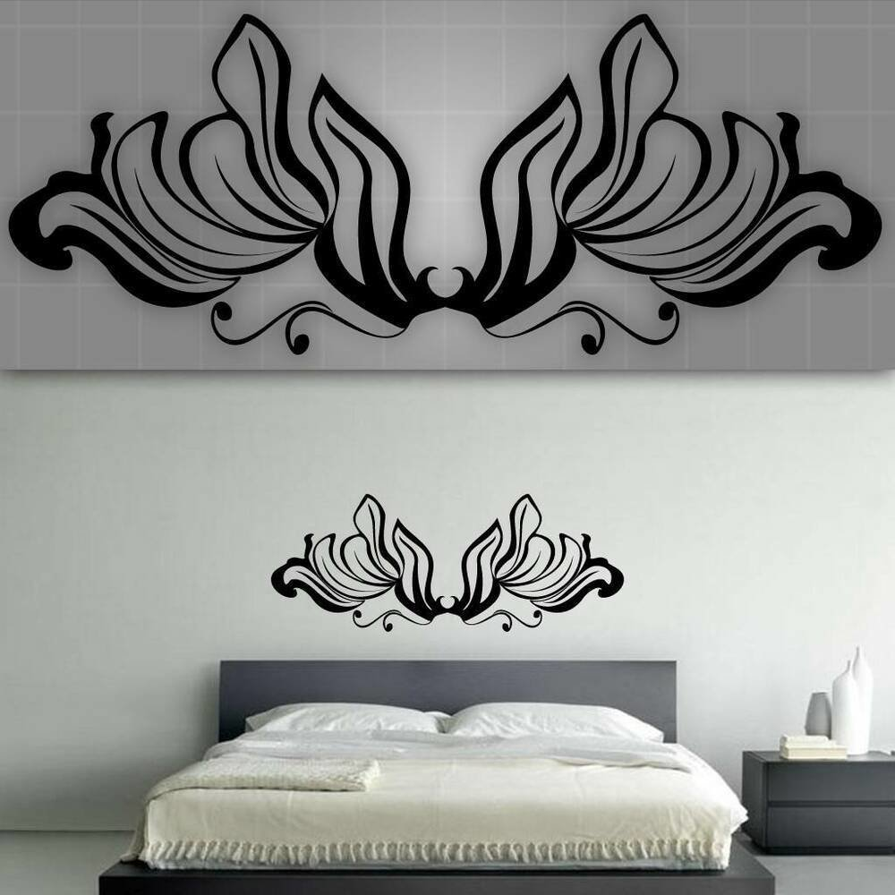 Best Decorative Headboard Wall Decal Bedroom Wall Decor 48 With Pictures