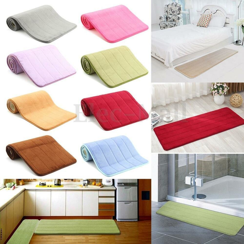 Best 47 Memory Foam Washable Mat Bedroom Floor Pad Non Slip With Pictures