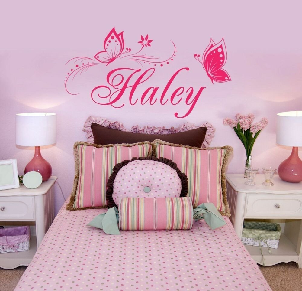 Best Butterfly Wall Sticker Personalized One Name Vinyl Wall With Pictures