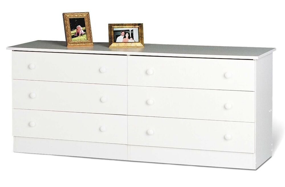 Best Home Furniture 6 Drawer Bedroom Dresser White New Ebay With Pictures