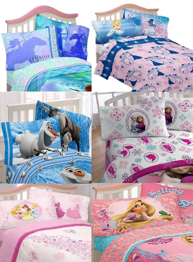 Best Girls Princess Sheet Sets Girls Bedroom Cinderella With Pictures