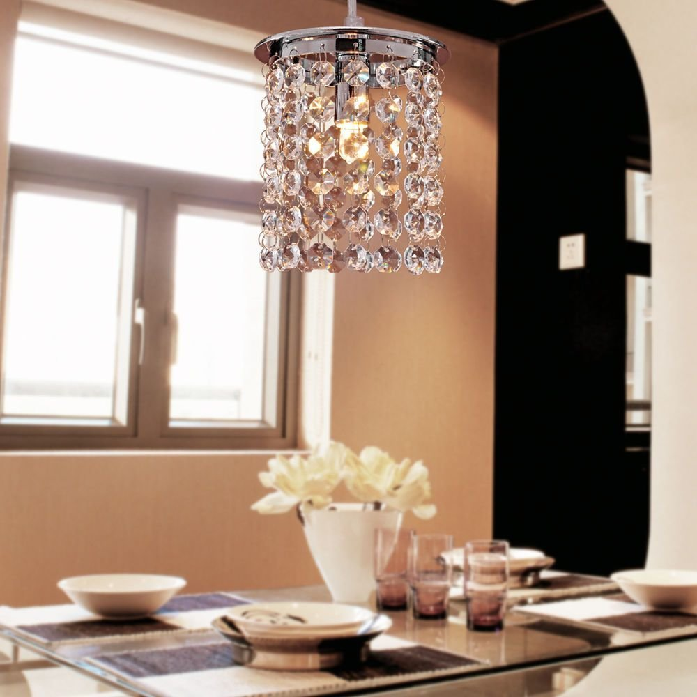 Best Crystal Chandelier Ceiling Pendant Lights Hanging Lamp With Pictures