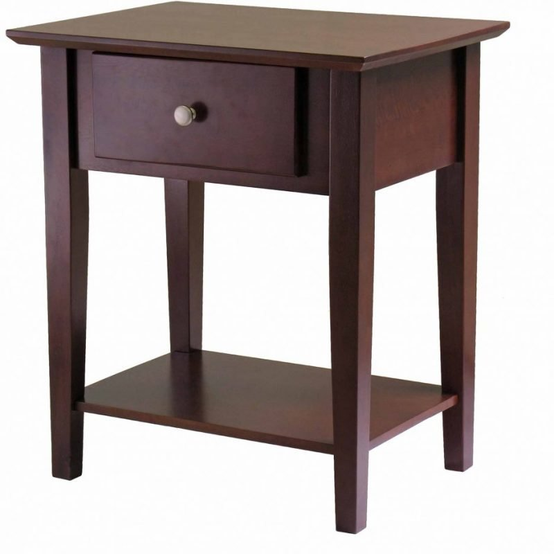 Best Download Decoration Round Nightstand With Drawer With Mandrinhomes Com With Pictures