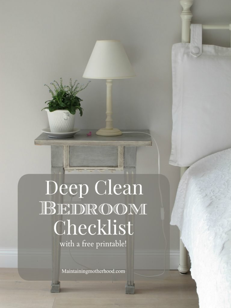 Best Deep Clean Bedrooms Checklist – Maintaining Motherhood With Pictures