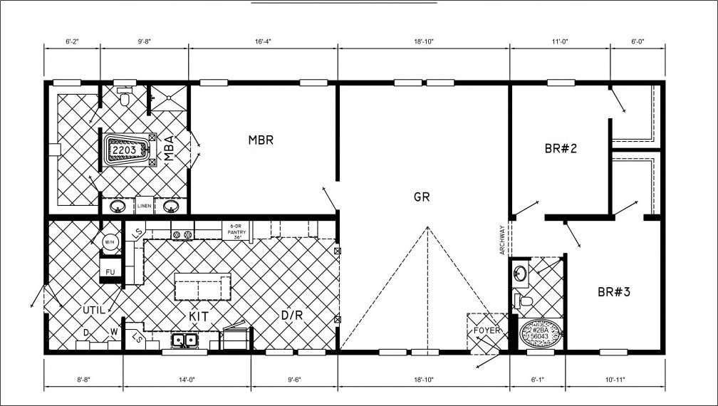 Best Mobile Home Floor Plans 3 Bedrooms Mobile Homes Ideas With Pictures
