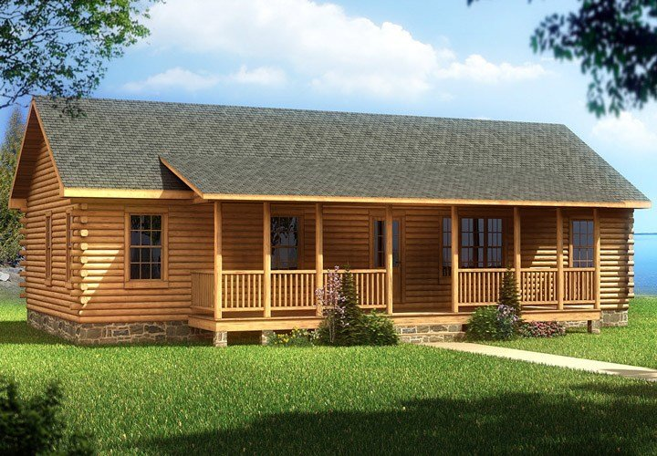 Best Cabin Mobile Homes With Aesthetic Design And Good Comfort With Pictures