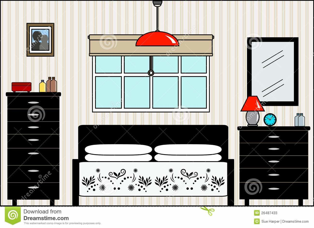 Best Bed Clipart Bedroom Furniture Pencil And In Color Bed With Pictures