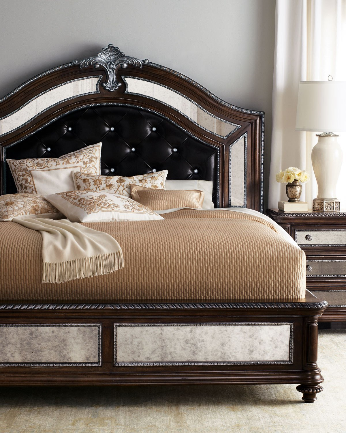 Best Style Spotlight Leather Beds And Headboards With Pictures