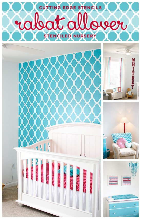 Best Giddy With Stenciled Girls' Rooms With Pictures