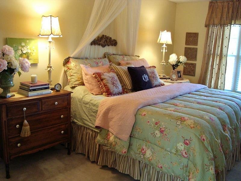 Best Bloombety Cottage Style Master Bedroom Decorating Ideas With Pictures