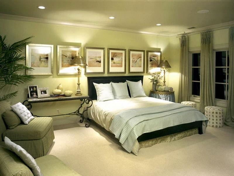 Best Bloombety Green Master Bedroom Paint Color Schemes Green With Pictures