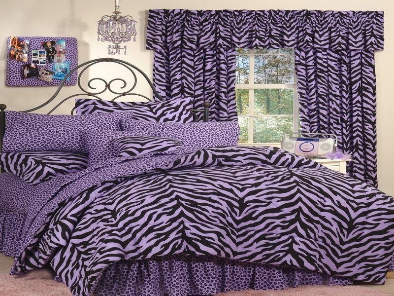 Best Bloombety Purple Zebra Print Decor For Bedroom Zebra Print Decor For Bedroom With Pictures